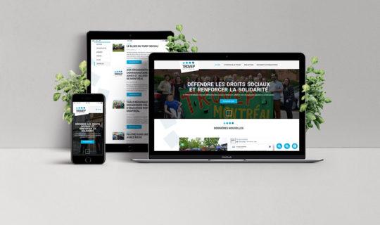 TROVEP - Maquettes Web